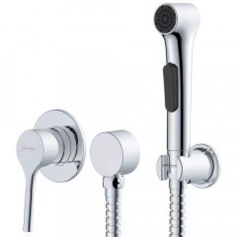 Купить смеситель с гигиеническим душем Jacob Delafon Elate E24610-CP не дорого