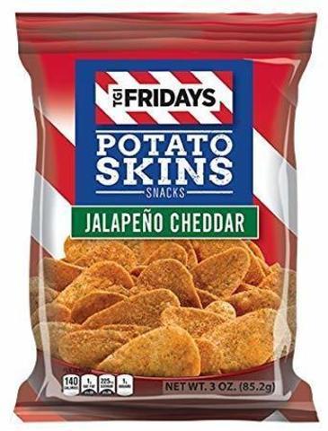 TGI Friday's Potato skins Jalapeno cheddar острые с сыром Чеддер 113 гр