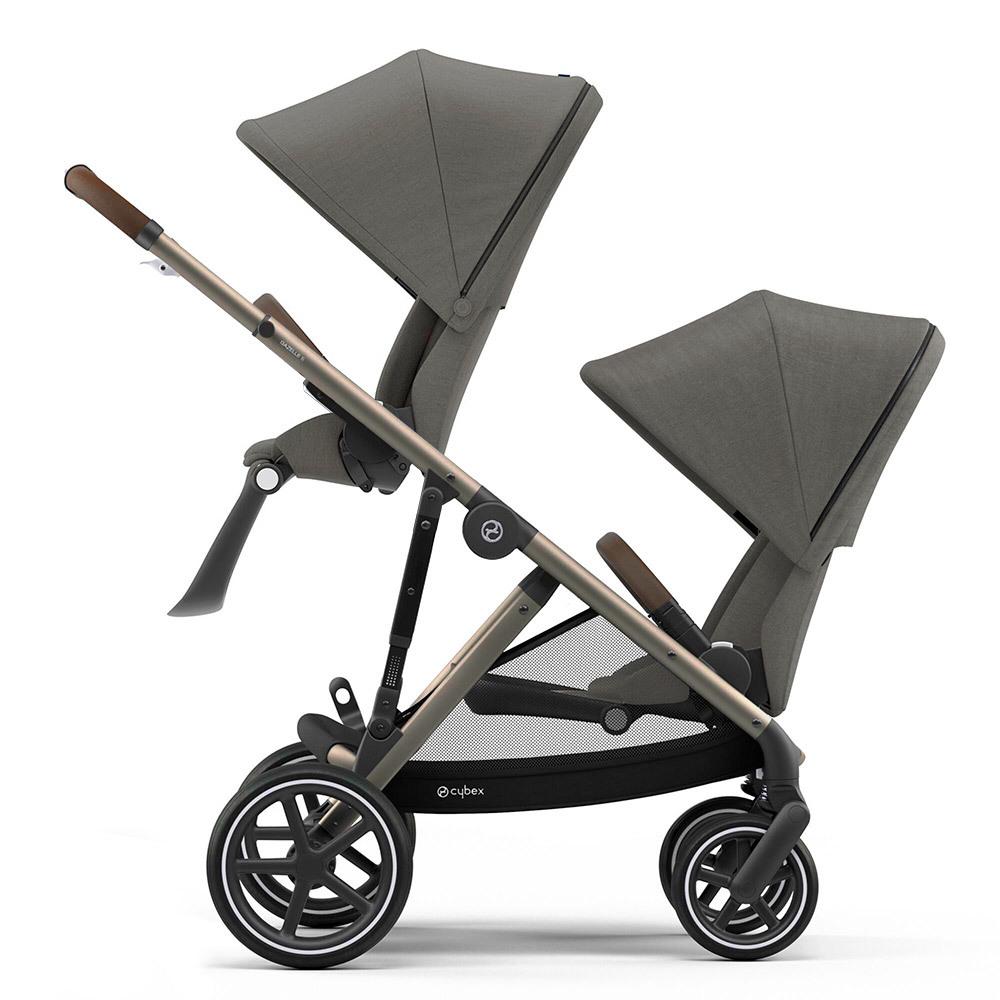 Cybex Gazelle S прогулочная Прогулочная коляска для двойни Cybex Gazelle S TPE Soho Grey Gazelle-S-twins-TPE-soho-grey.jpg