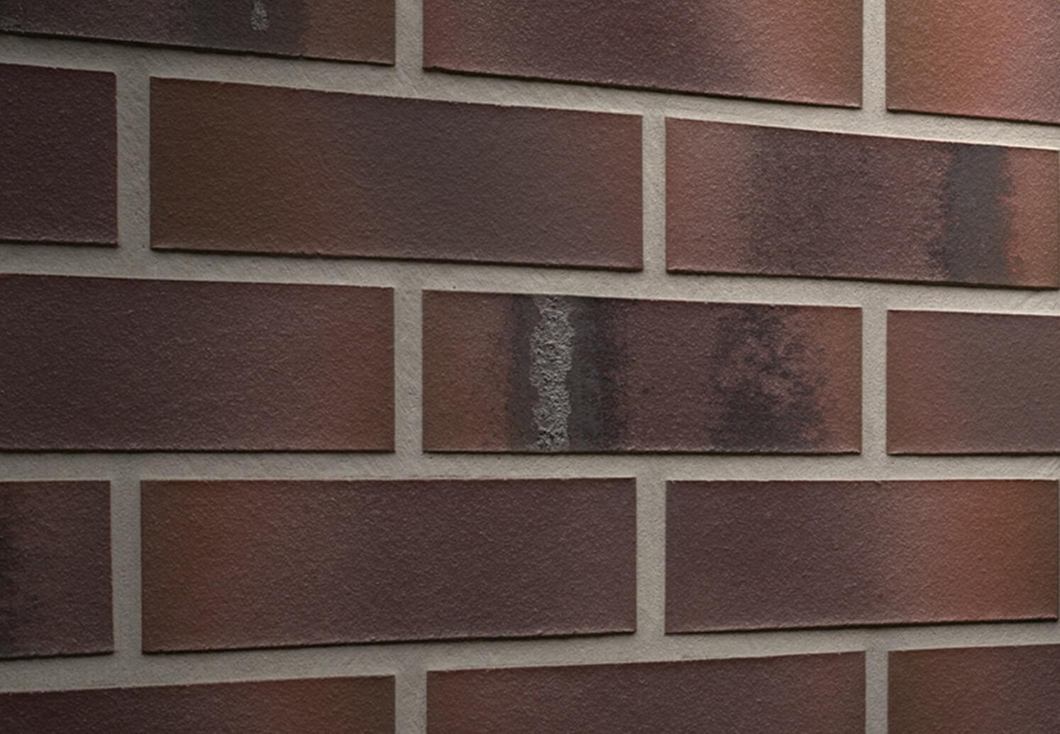 Feldhaus Klinker - R561NF14, Carbona Carmesi Maritimo, 240x14x71 - Клинкерная плитка для фасада и внутренней отделки