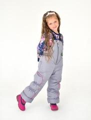 Зимний комбинезон-костюм Leeloo розовый