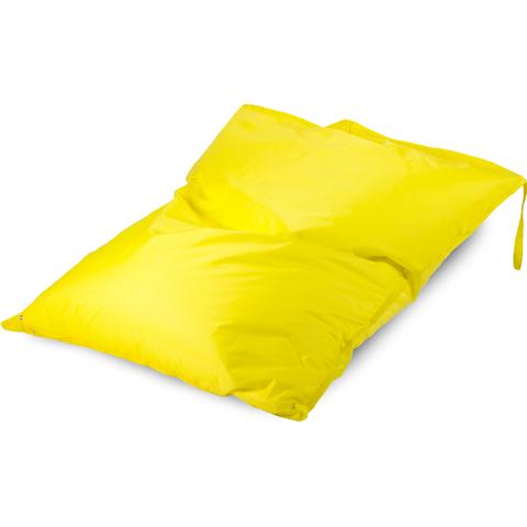 Бескаркасное кресло «Подушка», Желтый