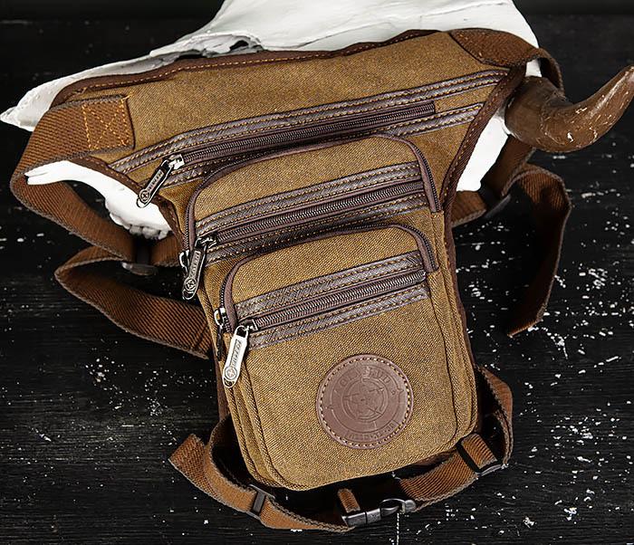 BAG505-2 Вместительная текстильная сумка на ногу