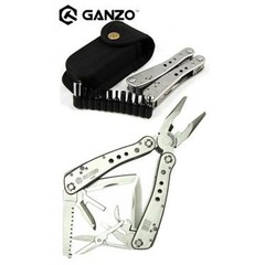 Мультитул Ganzo G201-B, 105 мм, 25 функций, нейлоновый чехол