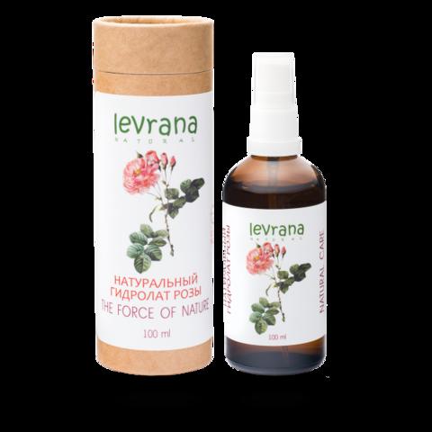 Гидролат Розы | 100 мл | Levrana