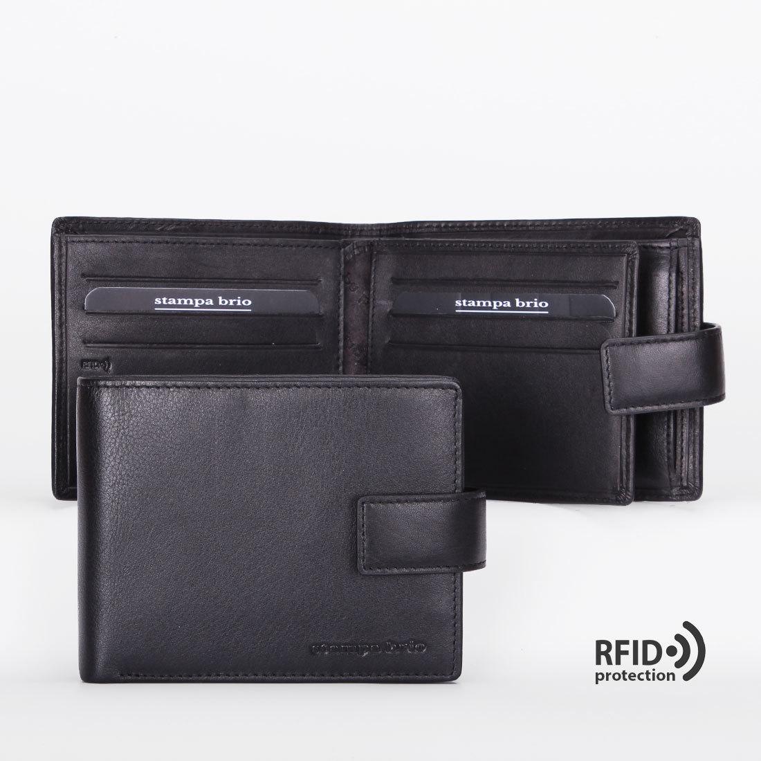 665 R - Портмоне с потайным отделением и RFID защитой
