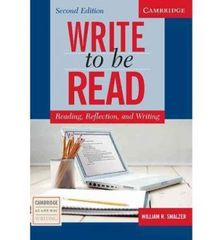 Write to be Read Second Edition Student's Book:...