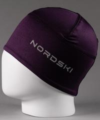 Лыжная шапка Nordski Warm Purple