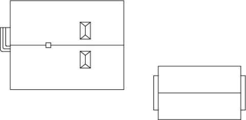 Сельский магазин стройматериалов, (H0)