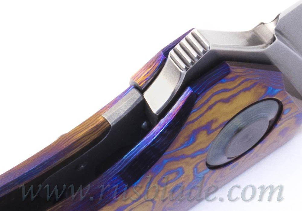 Cheburkov Hudson M390 Timascus Full Custom - фотография