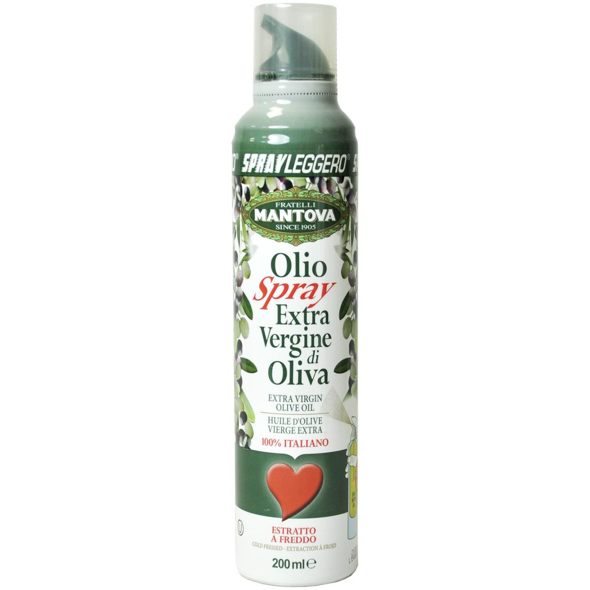 Масло оливковое Extra Vergin 200 мл Спрей MANTOVA