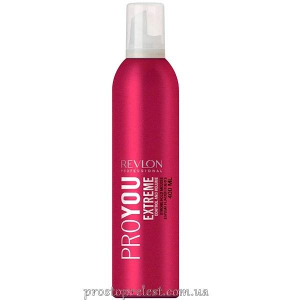 Revlon Professional Pro You Mousse Extreme - Мусс для волосся сильної фіксації