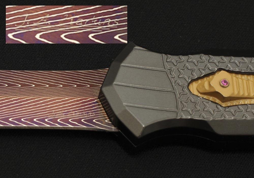Нож Jeff Harkins Triton Кастом Единственный экземпляр! - фотография