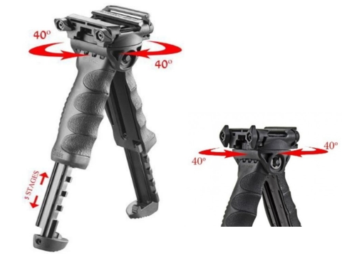 Тактическая рукоять-сошка FAB-Defense (T-POD G2)