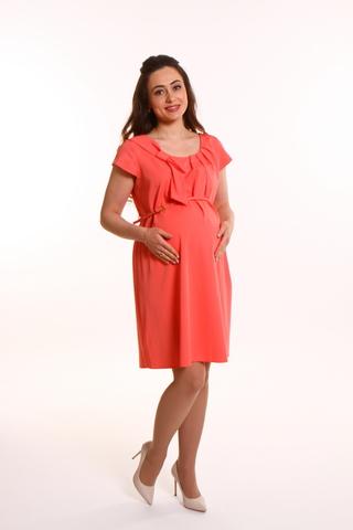 Платье для беременных 05998 красный