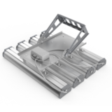 Поворотный кронштейн светодиодных светильников Iron х 4 шт