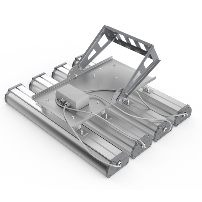 Общий вид поворотного кронштейна для светодиодных светильников Iron х 4 шт
