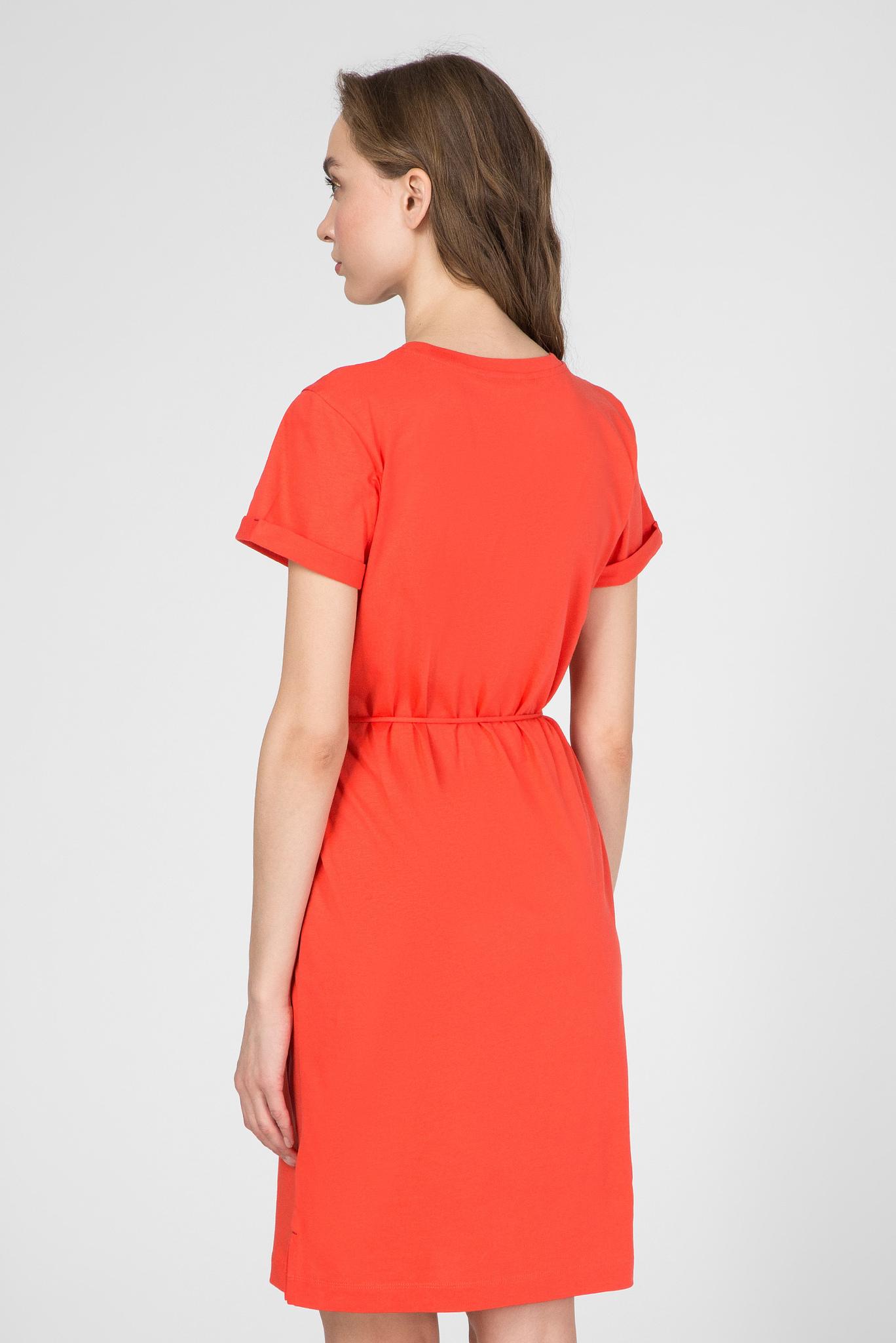 Женское оранжевое платье ANGELA REGULAR C-NK Tommy Hilfiger