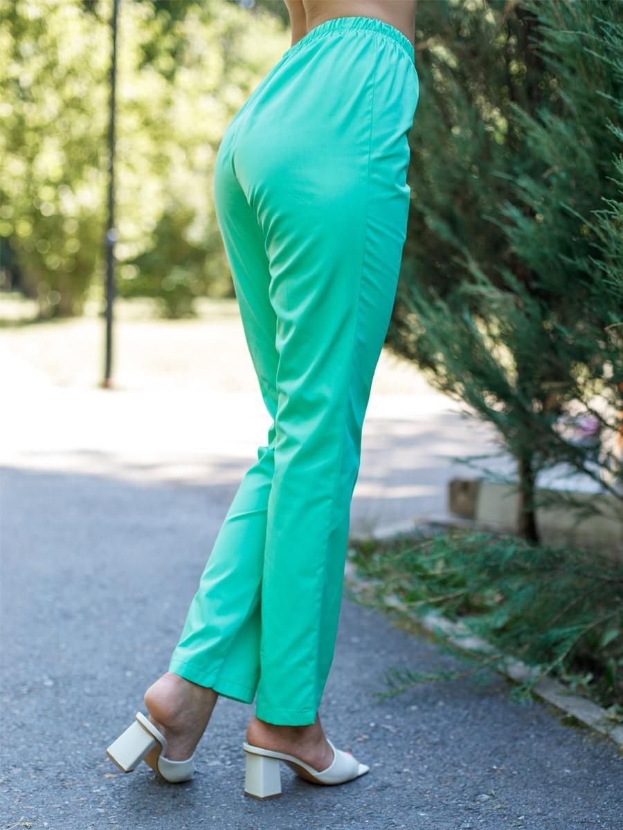 MediS.moda Зеленые медицинские брюки Б-101/2 ТС-120