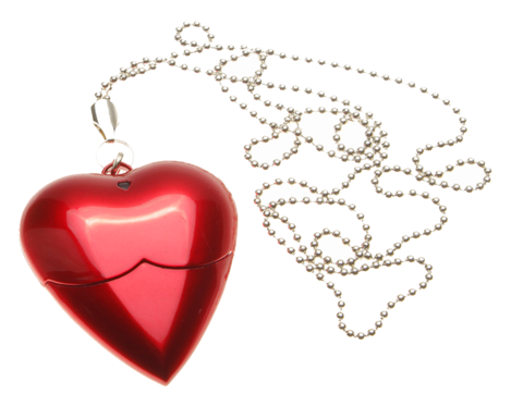 usb-флешка в виде сердца