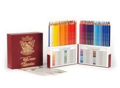 Карандаши цветные художественные POLYCOLOR RETRO 3827, 72 цвета, пенал-премиум