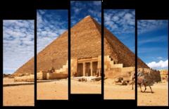 """Модульная картина """"Египетская пирамида"""""""