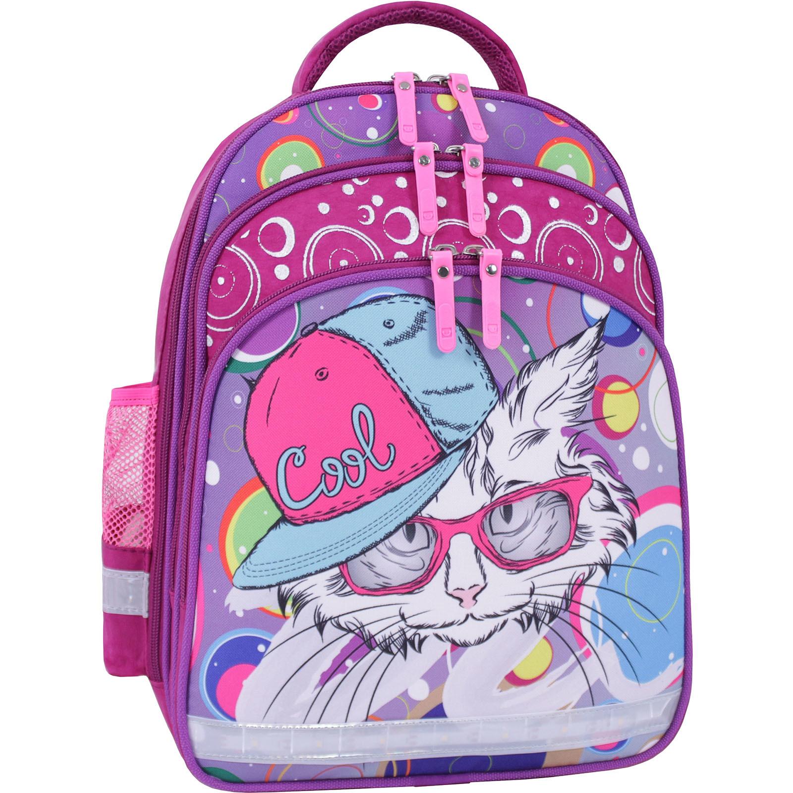 Рюкзак школьный Bagland Mouse 143 малиновый 501 (0051370) фото 1