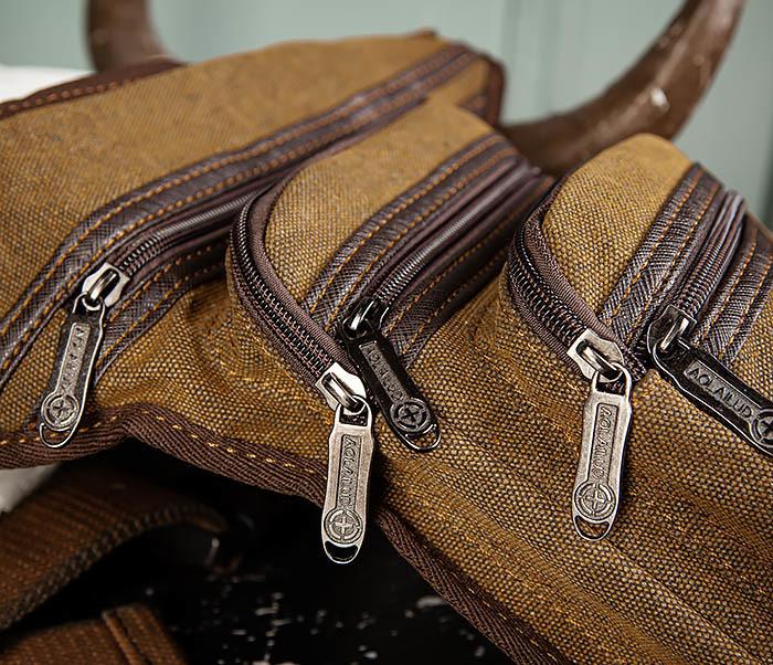 BAG505-2 Вместительная текстильная сумка на ногу фото 03