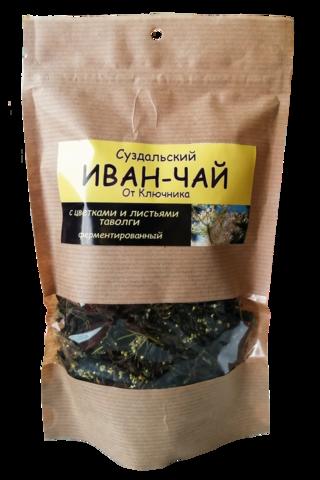 Иван-чай «с цветками и листьями таволги» из Суздаля