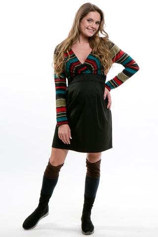 Платье для беременных 05970 красный