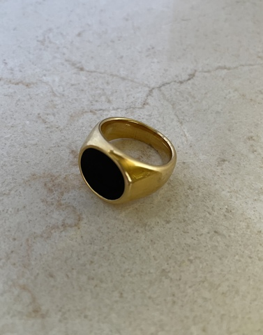 Кольцо Бронта, позолота