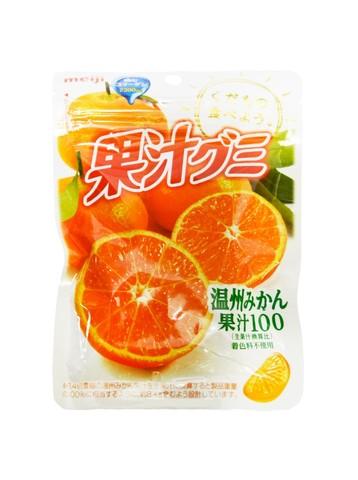 Мармелад Meiji Апельсин (Мандарин) с коллагеном 51 гр