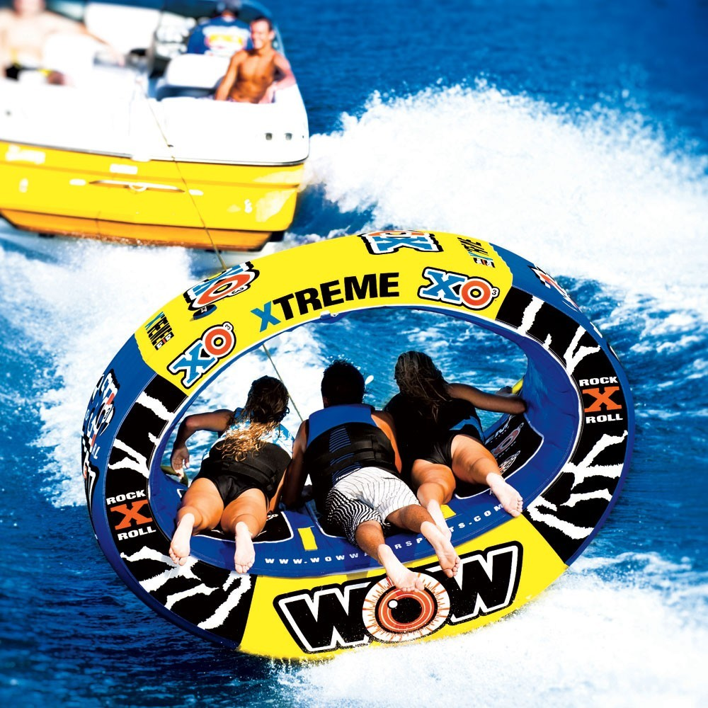 """Towable ski tube """"XO extreme"""", 3 person"""