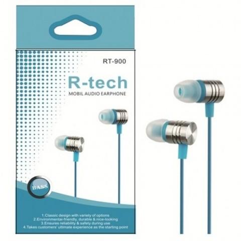 Наушники R-TECH RT-900 (ассорти)