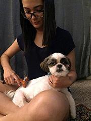 Щетка для грумминга собак Фурминатор Short Hair Giant Dog UNHAIRING 12,7см c кнопкой