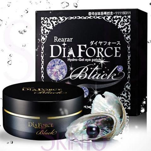 Rearar Dia Force Hydro Gel Eye Patch Black MISKIN