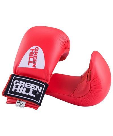 Накладки на кисть Green Hill COBRA KMС-6083, к/з, красный (S)/Сфит (Green Hill COBRA KMС-6083)
