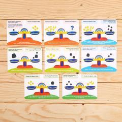 Карточки к игре Умные весы Zabiaka
