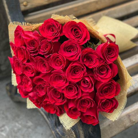 Букет голландских роз