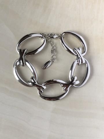 Браслет Одри, серебряный цвет