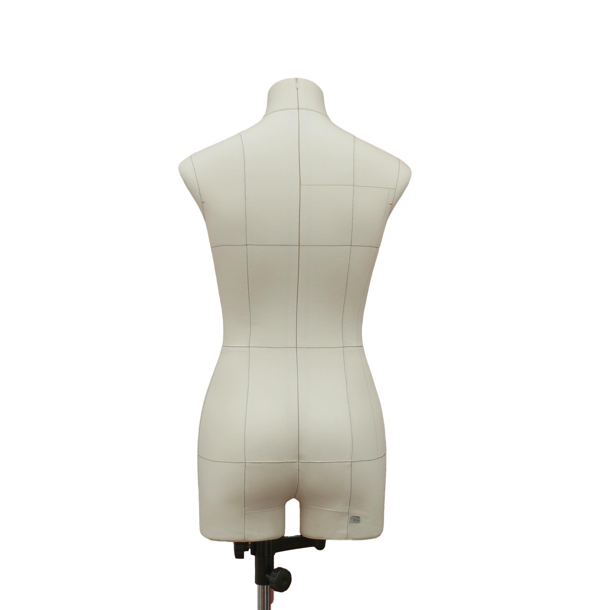 Манекен портновский Моника, комплект Премиум, размер 44, тип фигуры Прямоугольник, бежевыйФото 1