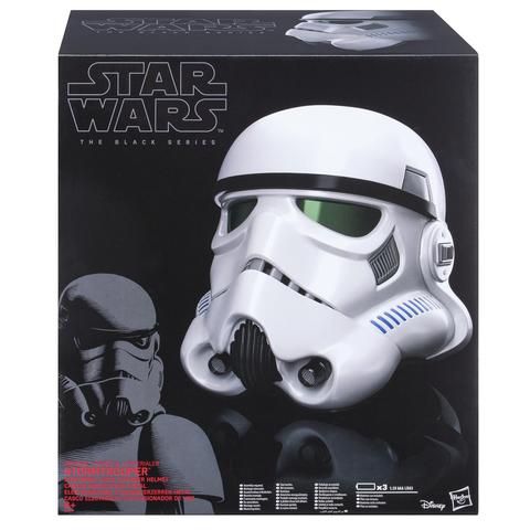 Шлем Штурмовика (реплика) Star Wars Black Series Imperial Stormtrooper Electronic Voice Changer Helmet