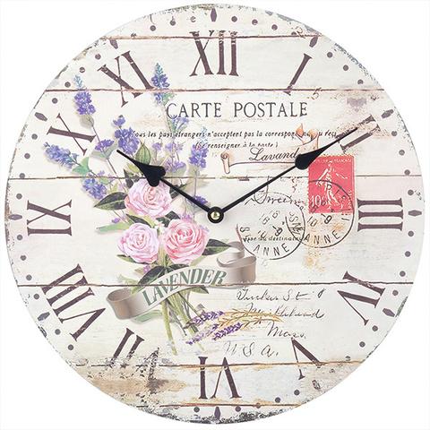 Часы настенные «Carte Postale» Time Keeper