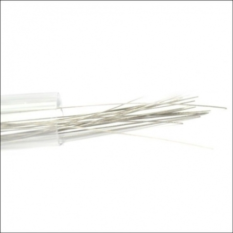 Titanium Rod Wire 28AWG 0.3мм 145 мм (tube) 20 шт.