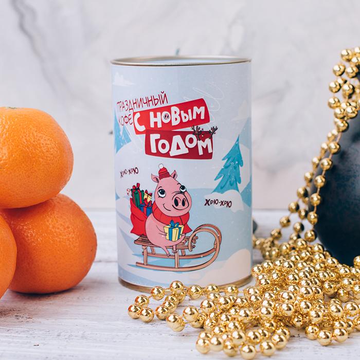 Купить подарочный кофе в Перми с символом нового года 2019