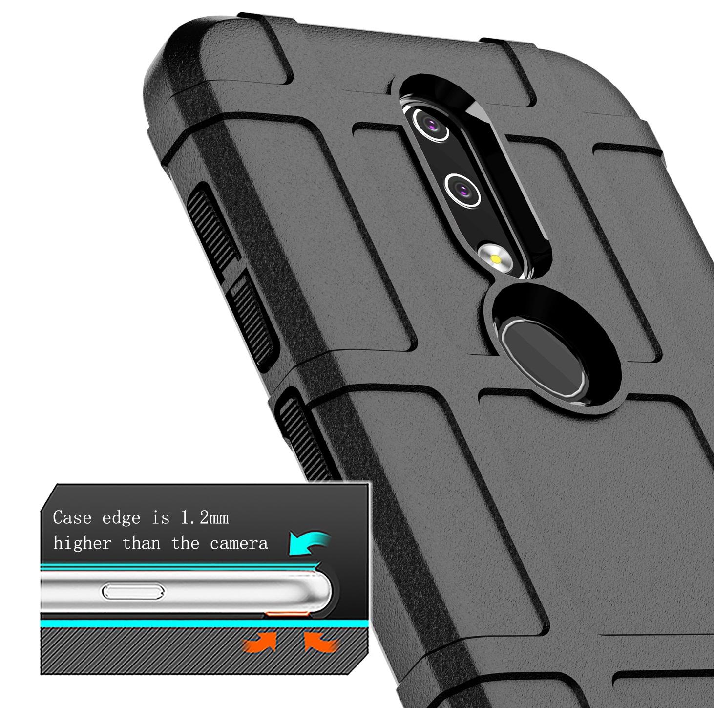 Чехол Nokia 4.2 цвет Black (черный), серия Armor, Caseport