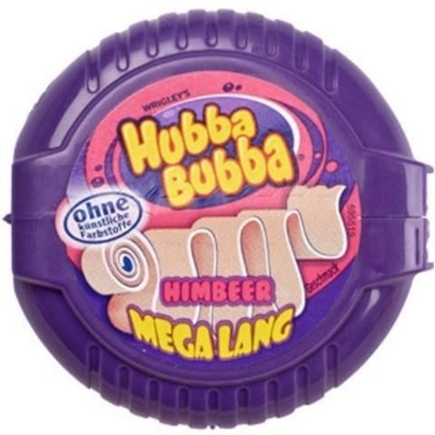Жевательная резинка Hubba Bubba малина 56 гр