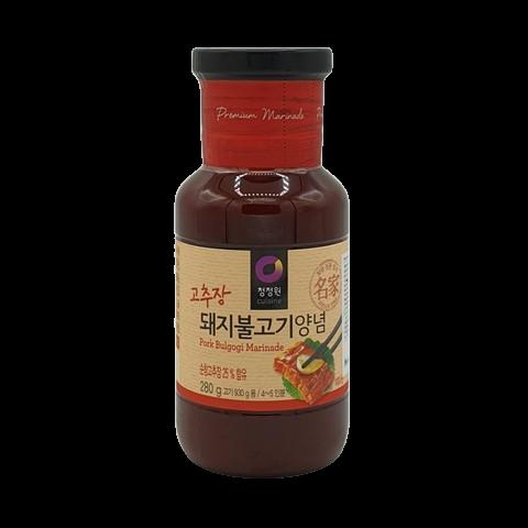 Корейский маринад для свинины Pork Bulgogi Marinade DAESANG, 280 гр