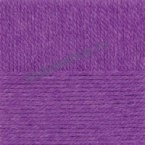 Пряжа Осенняя (Пехорка) цвет 78 фиолетовый