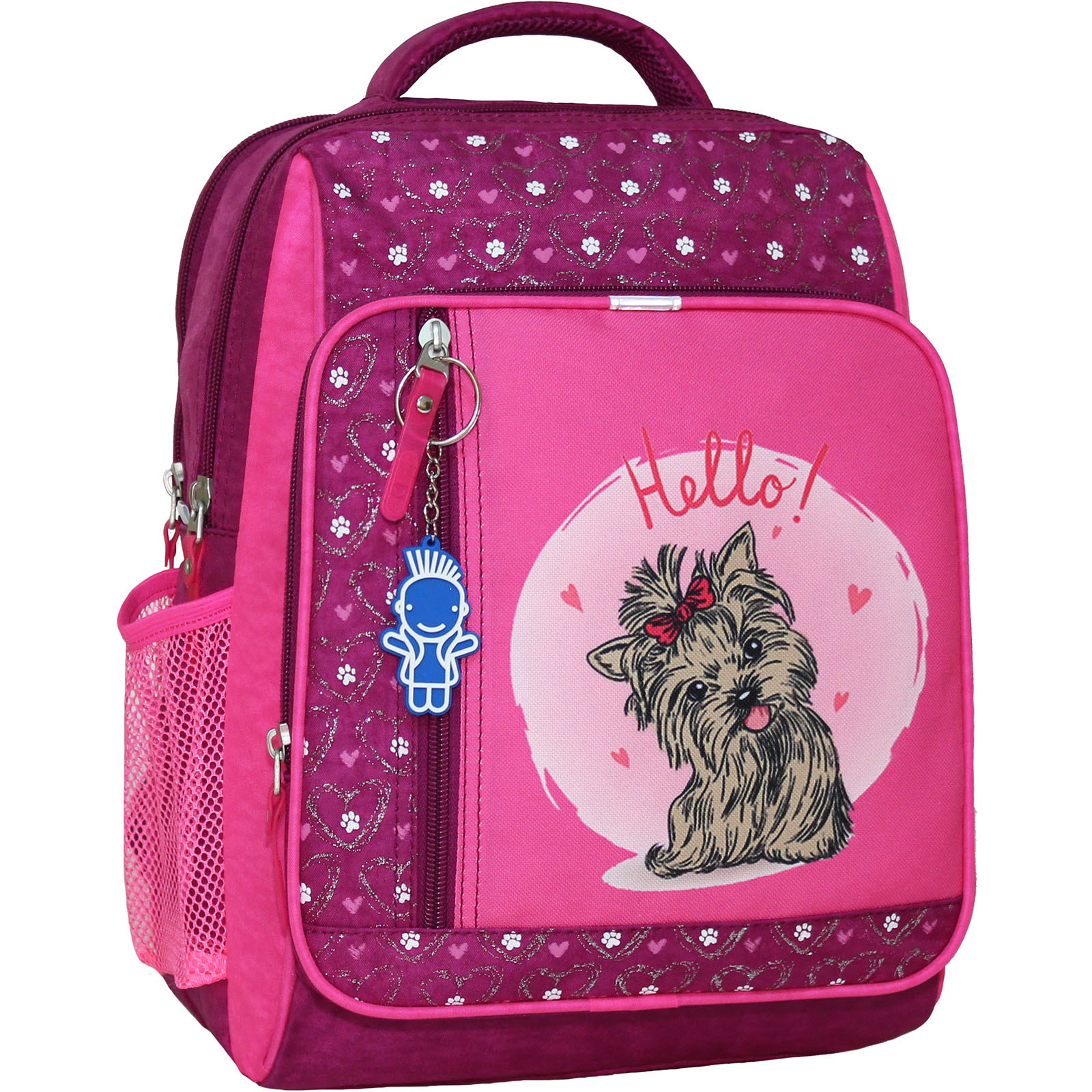 Школьные рюкзаки Рюкзак школьный Bagland Школьник 8 л. 143 малина 167к (00112702) IMG_6428_167К_.JPG